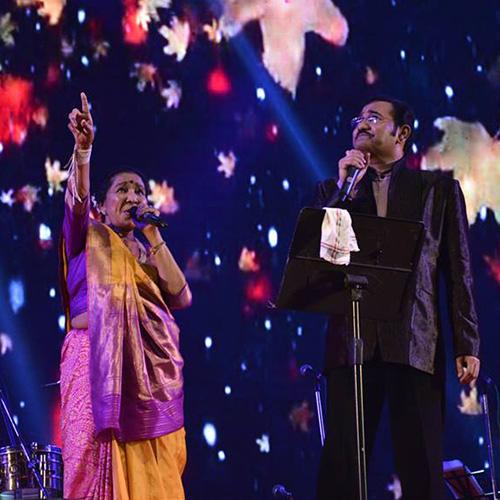 Asha Bhosle & Sudesh Bhosle