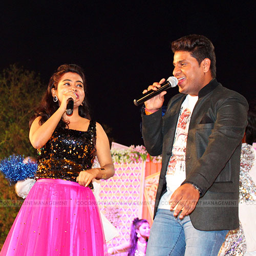Nitin Kumar and Sanchari Bose